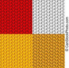 vector vehicle reflector seamless pattern