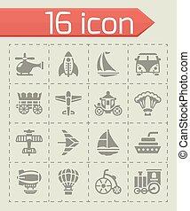 Vector Vehicles icon set
