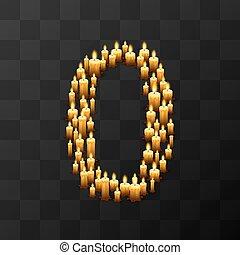 vector, velas, 0, plano de fondo, tribulation, ilustración, plantilla, elemento del diseño, transparente, números