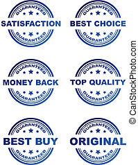 vector, verkoop, postzegels