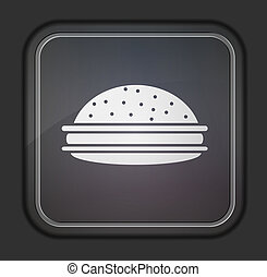 Vector version.  Hamburger icon. Eps 10 illustration. Easy to edit