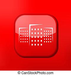 Vector version. Real estate icon. Eps 10 illustration. Easy...
