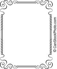 vector vertical frame