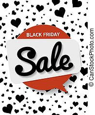 Vector vertical Poster big discount, a red circle with the text
