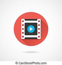 Vector Video Frame Icon