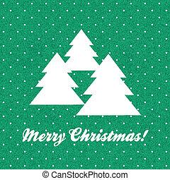 Vector vintage Christmas card