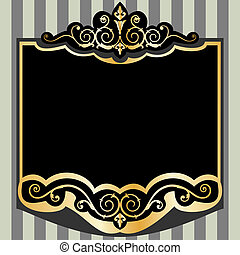 Vintage style frame, full scalable vector graphic for easy editing and color change, included Eps v8 and 300 dpi JPG