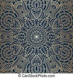 Vector vintage ornamental background.