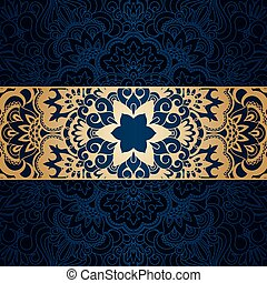 Vector vintage ornamental background.