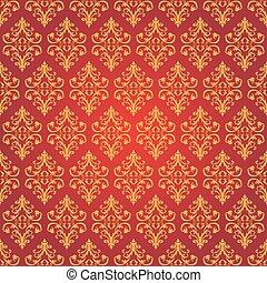 Vector Vintage pattern.