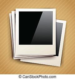 vector vintage photo frame