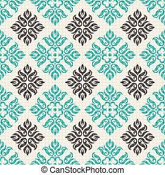Vector vintage seamless pattern
