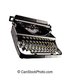 vector Vintage typewriter