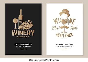 vector., vintillverkare, card., glasögon, flygare, ...