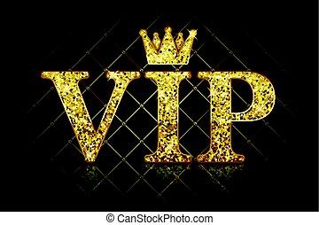Vector VIP icon