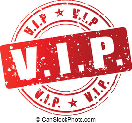 Vector vip stamp