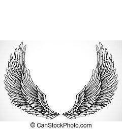 vector, vleugels