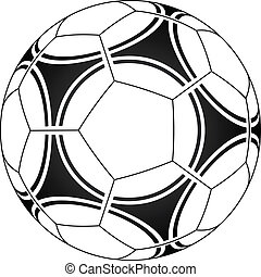 vector, voetbal