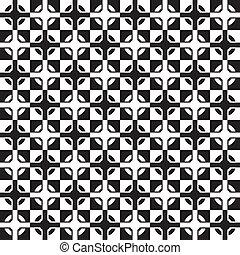 vector wallpaper seamless decoration of cross tiles