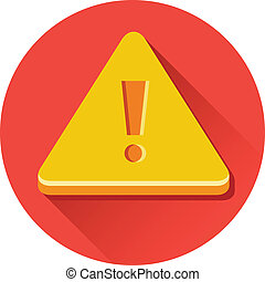 Vector Warning Sign Icon