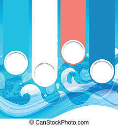 Vector Water Background