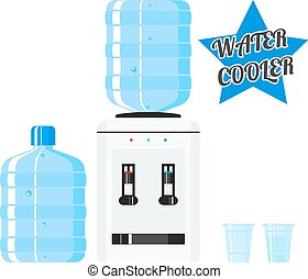 Vector water cooler