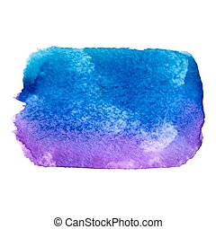 vector watercolor paint stain