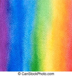 vector watercolor rainbow