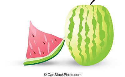 Vector-watermelon
