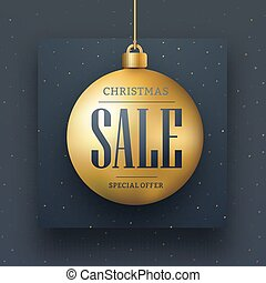 Vector web banner design for Christmas sale