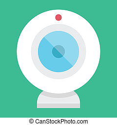 Vector Web Camera Icon