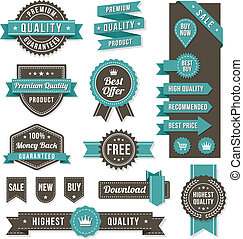 vector web design banners and elements