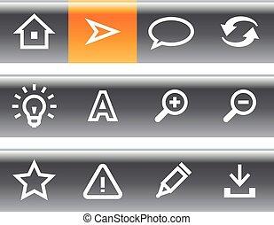 Vector web icon set