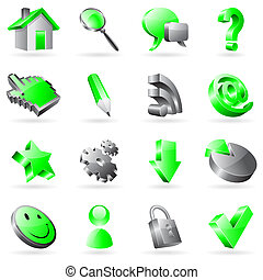 Vector web icons.