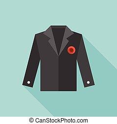 Vector wedding suit icon