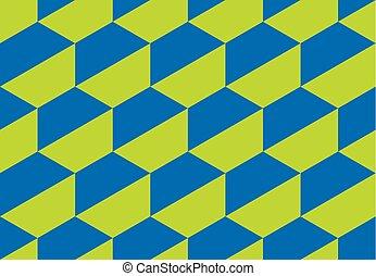 vector, weefsel, concept, meetkunde, model, abstract, shapes., omhulsel, stijl, illustratie, seamless, papier, oppervlakte, zeshoek, geometrisch, disco, ontwerp, retro