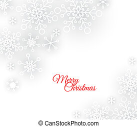 Vector white abstract Christmas background