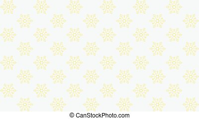 Vector white background with snowflakes. Seamless pattern