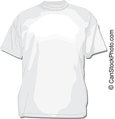 Vector White Blank Shirt