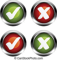 vector white checkmarks labels
