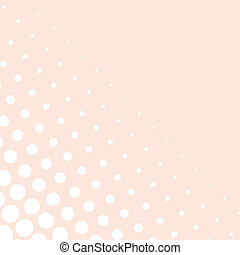 Vector background - pink and white dots from small to big - vintage sweet valentines illustration for web design, documents template, blog, wallpaper or baby shower party or wedding invitation
