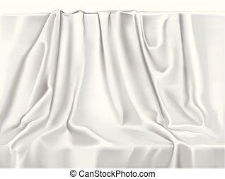 White Drape - Vector White Drape background