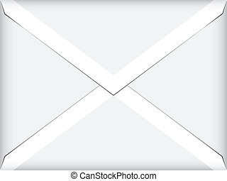 vector white envelope