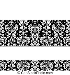 Vector White Ribbon Background
