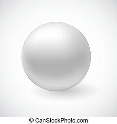 Vector wight 3Dl sphere