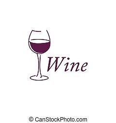 Vector Wine Icon