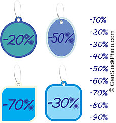 Vector winter discount