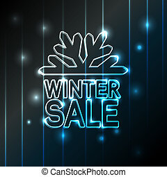 winter sale - Christmas offer - EPS 10