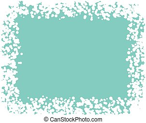vector winter snow border