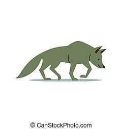 Vector Wolf